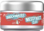 Wella Shockwaves Haare Styling Messy Matt Clay 75 ml