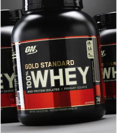 Afbeelding van Optimum Nutrition 100% Whey - Eiwitpoeder / Eiwitshake - 450 gram - Chocolade