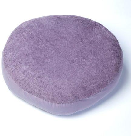Afbeelding van Paarse Form-Fix Voedingskussenhoes - Hoes voor Sit Fix XL - 100% katoen en comfortabel badstof - Aubergine