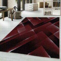 COSTA Impression Pera Design Laagpolig Vloerkleed Rood- 140x200 CM