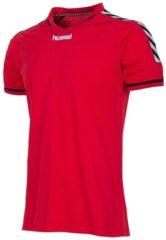 Afbeelding van Rode Hummel Authentic - Voetbalshirt - Mannen - Maat XXXL - Rood