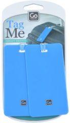 Tag Me Kofferanhänger Set 2tlg. 11 cm GoTravel blau