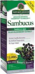 Natures Answer Voedingssupplementen Sambucus, Black Elder Berry (vlierbessen) Extract (120 ml) - Nature's Answer