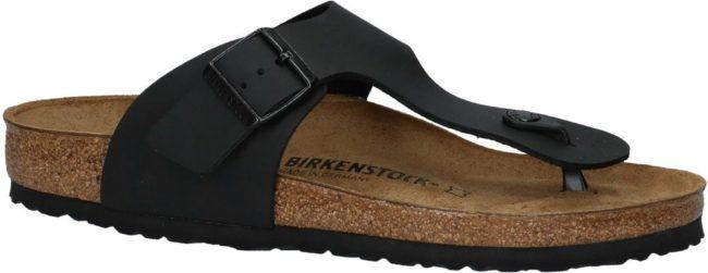 Afbeelding van Zwarte Birkenstock Ramses Heren Slippers Regular fit - Black - Maat 46