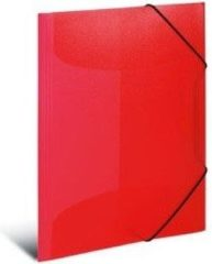 Rode HERMA 19504 Polypropyleen (PP) Rood, Doorschijnend map