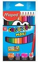 Maped kleurpotlood Color'Peps Jumbo Early Age, 12 potloden in een kartonnen etui