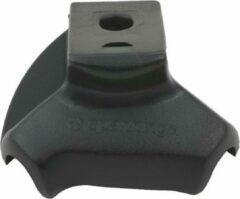 Zwarte Afdekkap voor Spanninga Easy standaard - 30mm