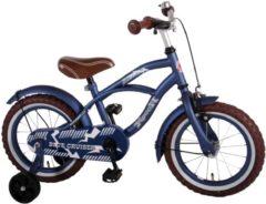 Yipeeh Volare Blue Cruiser Kinderfiets - Jongens - 14 inch - Blauw - 95% afgemonteerd