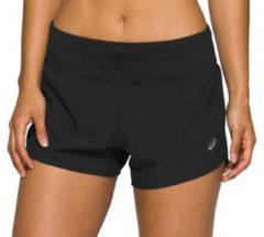 Zwarte Asics Women's Road 3.5 Inch Shorts - Korte broeken