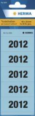 Ordnerrug Herma jaargetallen 2012 blauw
