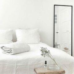 Coco & Cici zacht, luxe en duurzaam beddengoed - dekbedovertrek - lits-jumeaux XL- 260 x 220 - wit