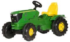Groene Rolly Toys traptractor RollyFarmtrac John Deere 6210R groen