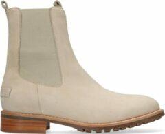 Shabbies Dames Chelsea boots 181020327 - Beige - Maat 40