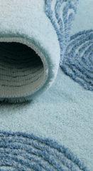 Turquoise Esprit Badezimmer-Teppich Yoga