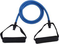 DW4Trading® Resistance tube met handvat 1,2 mtr blauw