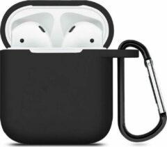 ShieldCase Case geschikt voor Airpods silicone case - zwart