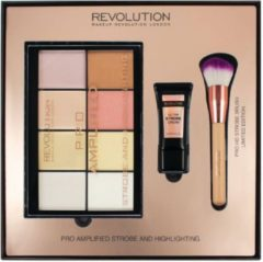 Makeup Revolution Amplified Strobe & Highlighting Set - Cadeauset