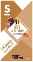 Sweet-Switch Chocolade Zeezout Caramel 100 gr