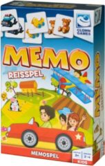 Blauwe Clown Games Clown Memo Reisspel
