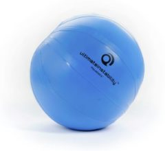 Blauwe Ultimateinstability Aquaball L - Fitnessball inlcusief pomp - Gymball voor balans - Sport oefenbal - Waterbal