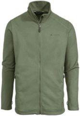 Vaude - Rosemoor Fleece Jacket - Fleecevest maat M, grijs/olijfgroen