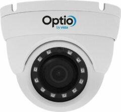 Witte Optio by Vista Beveiligingscamera set van Optio over IP 4 megapixel