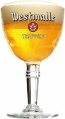 Transparante Westmalle Bierglas - Op voet - 0.48 cl - 1 Stuk