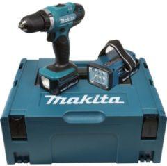 Makita DDF343RYLJ - Akku-Bohrschrauber 14,4V+Akku-Lampe DDF343RYLJ