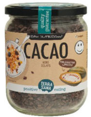 Terrasana Raw cacao nibs - 230 gram - Voedingssupplement