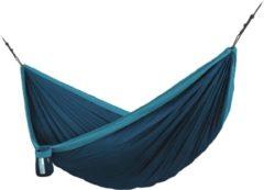 Blauwe Tweepersoons Reis-hangmat Met Bevestiging Colibri 3.0 River - LA SIESTA (CLT19-39) CLT19-39