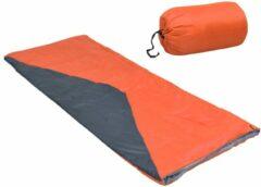 VidaXL Slaapzakken 2 st envelop lichtgewicht 10 1100 g oranje