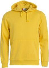 Gele Clique Basic hoody Lemon maat XL