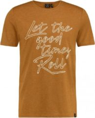 Bruine Kultivate TS Lets roll t-shirt