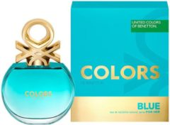 Colors De Beneton Blue By Benetton Edt Spray 80 ml - Fragrances For Women