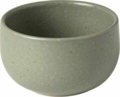 Costa Nova - servies - kom mini Pacifica groen - 0,22L - aardewerk - set van 6 - 9 cm rond