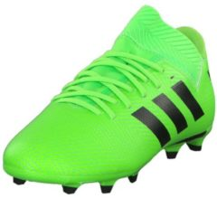 Fußballschuhe NEMEZIZ MESSI 18.3 FG J mit AGILITY MESH Obermaterial DB2367 adidas performance SGREEN/CBLACK/SGREEN