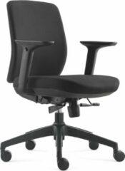 BenS 917-Ergo-1-Zwart. Ergonomische bureaustoel, veel instel mogelijkheden.
