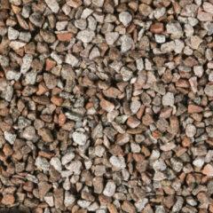 Rode Gardenlux | Graniet split 8-16 mm rood/grijs | Bigbag 1 m3