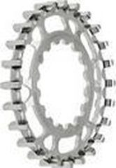 Zilveren GatesCarbonDrive Tandwiel voor E-bosch CDXFBO22