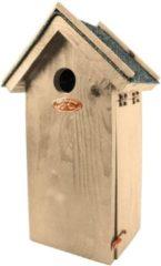 Bruine Best for Birds Esschert Design Antiek Vogelhuisje - Koolmees