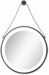 Badstuber Hannover ronde badkamer spiegel mat zwart 60cm