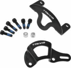 Zwarte Trivio Disc brake caliper protector set