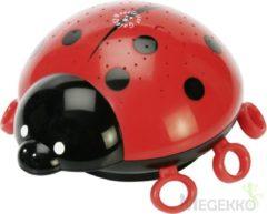 Rode Ansmann Nachtlampje lieveheersbeestje 15,4x8,2x15,9 cm rood 5870012