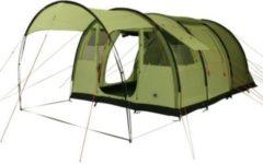 10-T Outdoor Equipment 10T Leighton 4 - Geräumiges 4-Personen Tunnel-Zelt mit großem Vordach und Bodenplane 2m Stehhöhe WS=5000mm