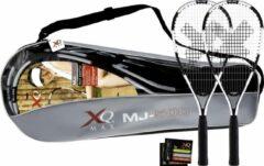 XQ Max Speed badmintonset-Wit/zwart/rood