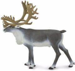 Plastic speelgoed figuur rendier karibou 11 cm - Kunststof speel dieren