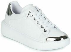 Witte Lage Sneakers Guess BRANDYN