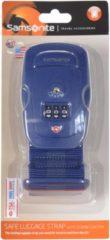 Travel Accessories Kofferband TSA-Zahlenschloss III Samsonite indigo blue