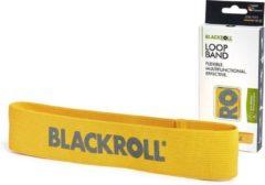 Blackroll -® Loop Band - Geel - Extra Licht