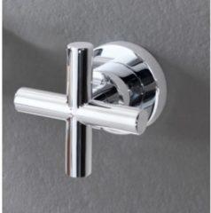 Roestvrijstalen Thermostaat omstel Hotbath Chap 2 weg kruisgreep RVS Look
